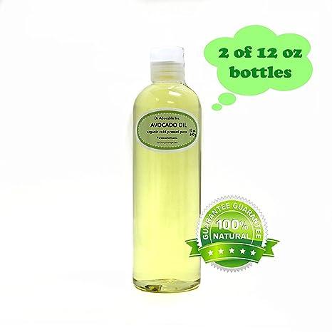 Aceite de Aguacate 100% puro orgánico prensado en frío 24 oz