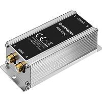 MONACOR FGA-40HQ High-End massa-scheidingsfilter, mantelstroomfilter met stereo lijnaansluitingen