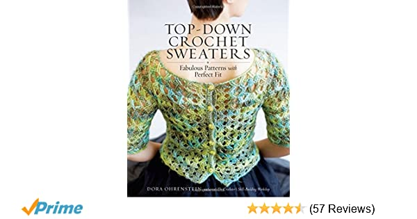 Amazon Top Down Crochet Sweaters Fabulous Patterns With