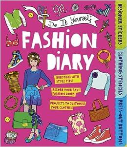 Do it yourself fashion diary amazon caroline rowlands do it yourself fashion diary amazon caroline rowlands 9781783120550 books solutioingenieria Image collections
