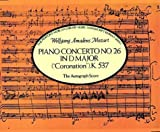 Piano Concerto No. 26 in D Major, Wolfgang Amadeus Mozart, 0486267474