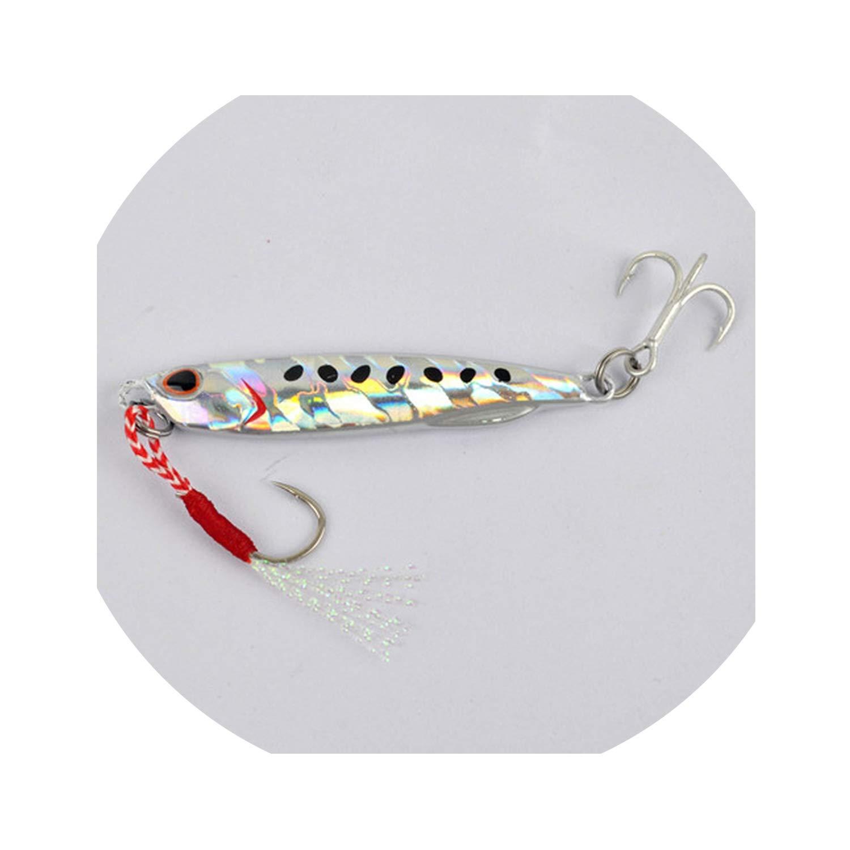 Metal Cast Jig Spoon 15g 30g 40g 60g Casting Jigging Lead Fish Sea Bass Fishing