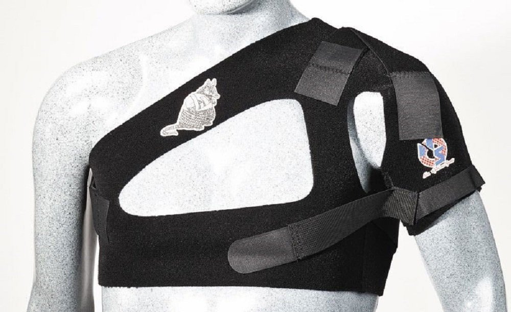 New Options Sports Arm-Adillo Shoulder Stabilizer | Made in USA (Medium)