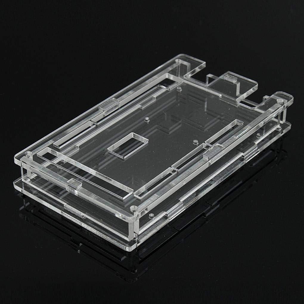 Yongse Caja Protectora Transparente de acrílico para Arduino Mega ...