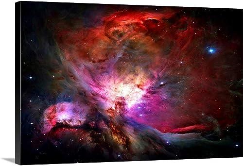 Orion Nebula Canvas Wall Art Print