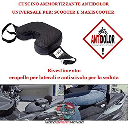 cojín para Sillín Scooter Galleta de Antideslizante TG ...