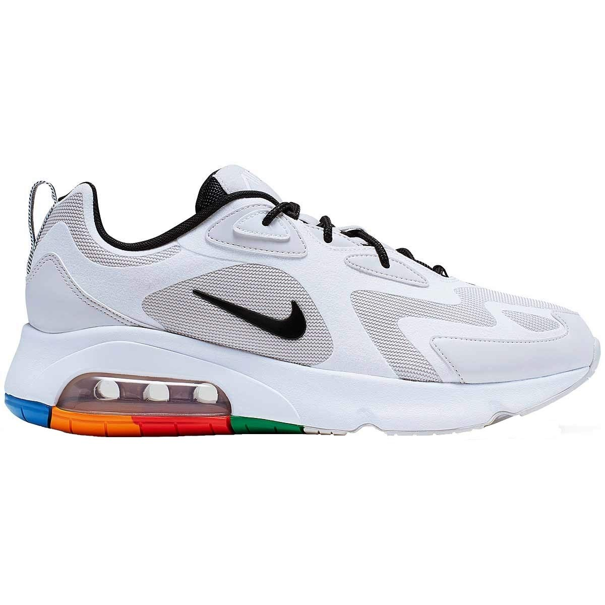 MultiCouleure (Vast gris noir-blanc-pacific bleu 002) 40.5 EU Nike Air Max 200, Chaussures de Trail Homme