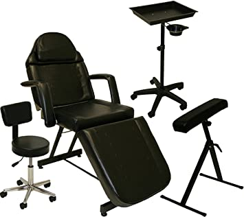 massage table and chair. Inkbed Tattoo Package Massage Table Chair Arm Bar Ink Bed Tray Studio Salon Equipment And N