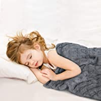 Kid's Weighted Blanket with Free Removable Cover - Cooling Toddler Heavy Blanket, Hush Weighted Blanket Comfort Blanket…