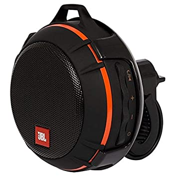 JBL Wind Portable Bluetooth Speaker with FM Radio and Supports Micro SD Card (Black) Bluetooth Speakers at amazon