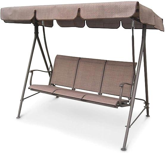 CASTLECREEK Canopied 3-Person Porch Swing