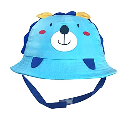 Alina Baby Toddler Cute Little Lion Sun Protection Hat with Chin Strap