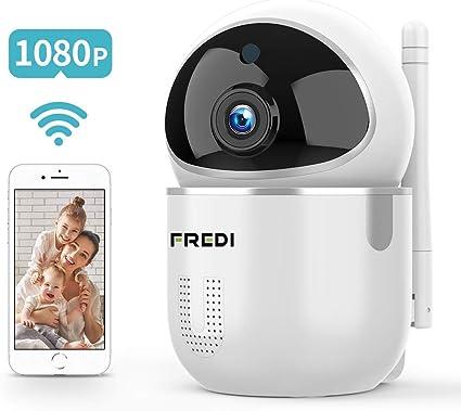 FREDI Cámara Vigilabebés Inalambrico Bebé Monitor,1080P HD ...