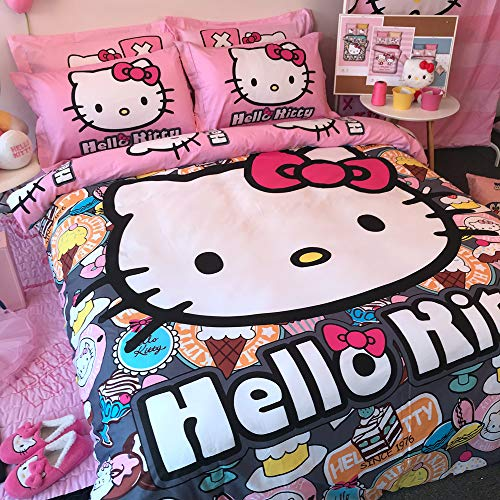 best Hello Kitty design bedding sets