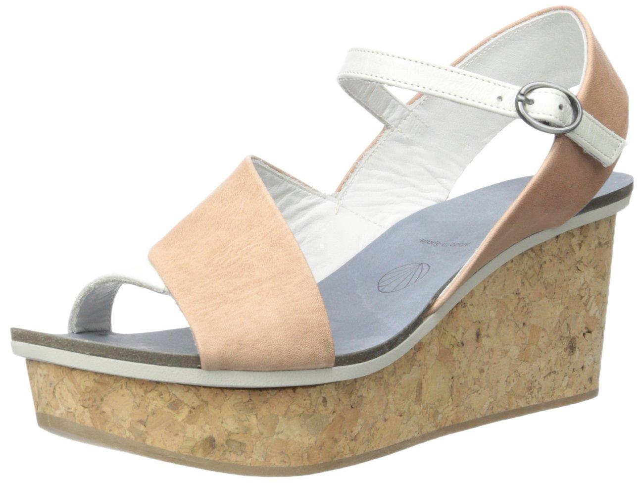 Coclico Women's Mallow Wedge Sandal B019I8RLC4 38 EU/7.5-8 M US|Country Salobrena/Ball Cloud/W Naturel