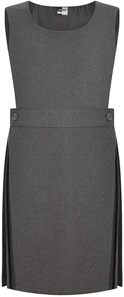 Zeco School Uniform Girls Bib Pinafore