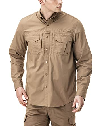 c725568cea59 Amazon.com  CQR Men s Outdoor PFG UPF 50+ Long Short-Sleeve ...