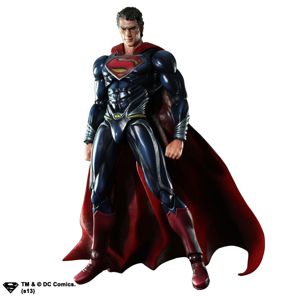 Square Enix Man Of Steel Superman Action Figur