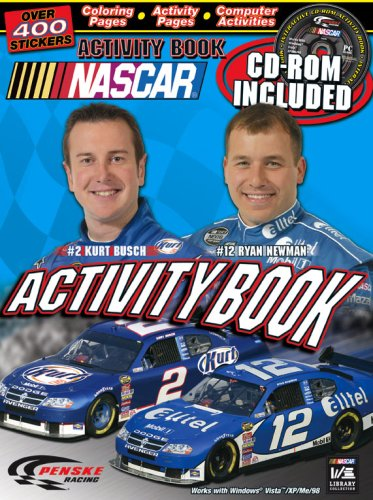 NASCAR / Penske Racing Activity book and CD