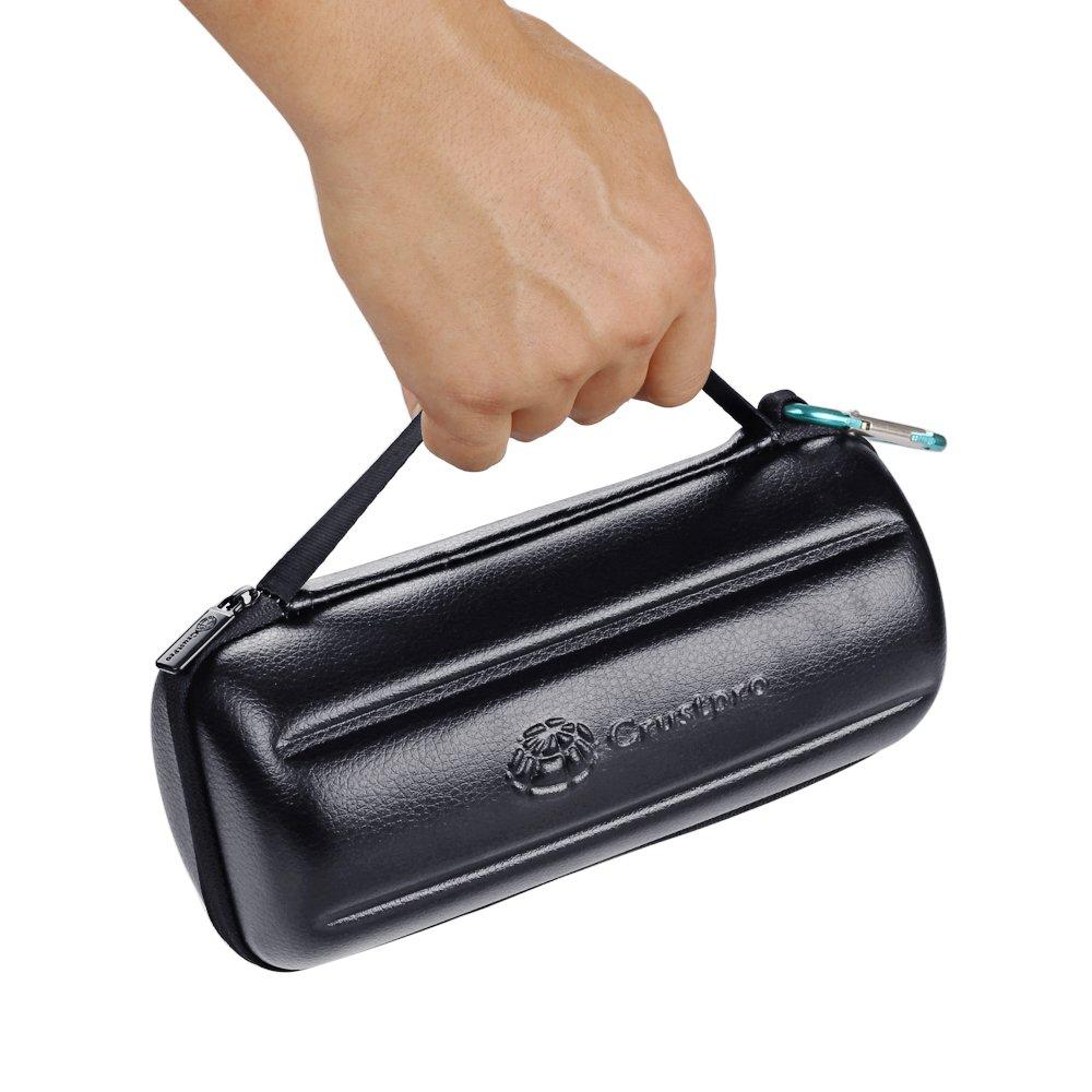 Bose SoundLink Revolve+ Plus Wireless Bluetooth Speaker Portable Hard Carrying Case Travel Bag (Black) by Esimen (Image #7)