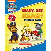 Paw Patrol: Ready, Set, Read! Phonics Pack