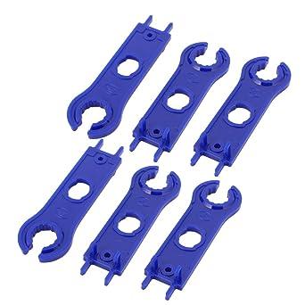 MC4 Solarmodul Steckverbinderschlüssel Paar Schraubenschlüssel Trennwerkzeug *
