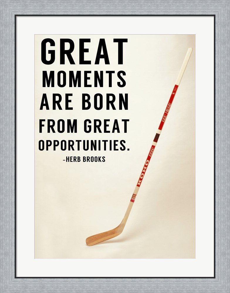 Great Moments by Sports Mania Framed Art Print Wall Picture, Flat ...