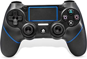 PS4 Wireless Controller, C200 Gamepad DualShock 4 Console for Playstation 4 Touch Panel Joypad with Dual Vibration Game Remote Control Joystick