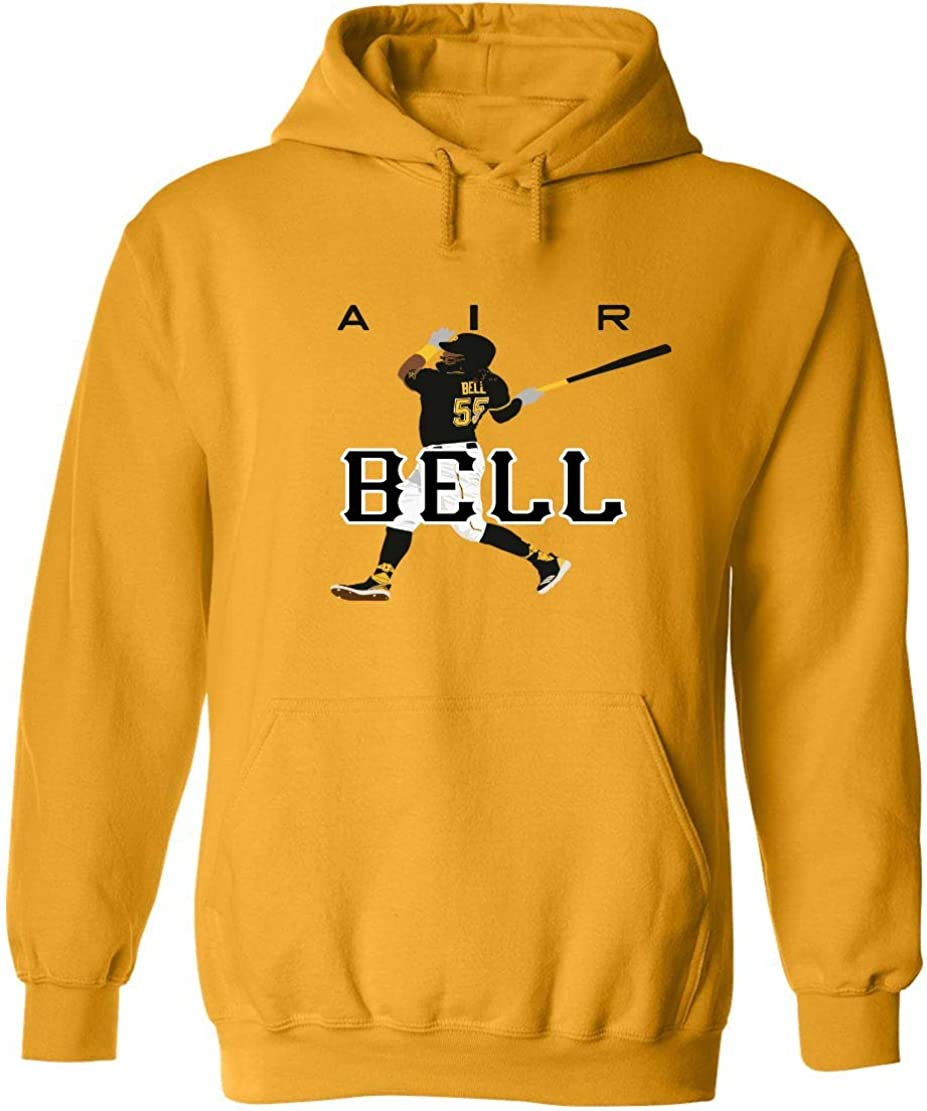 Gold Pittsburgh Bell AIR Hooded Sweatshirt