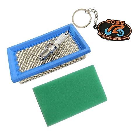 Unidades de mezcla de especias Pre Air y filtro de para bujías Kit de repuestos para