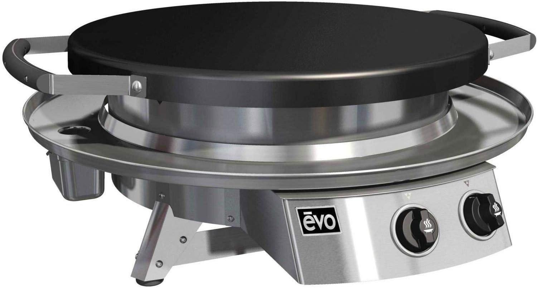 B00BJP5KAA evo Professional Series Table Top Grill (10-0021-NG), Seasoned Steel Cooktop, Natural Gas 6158Vz4s8vL.SL1500_