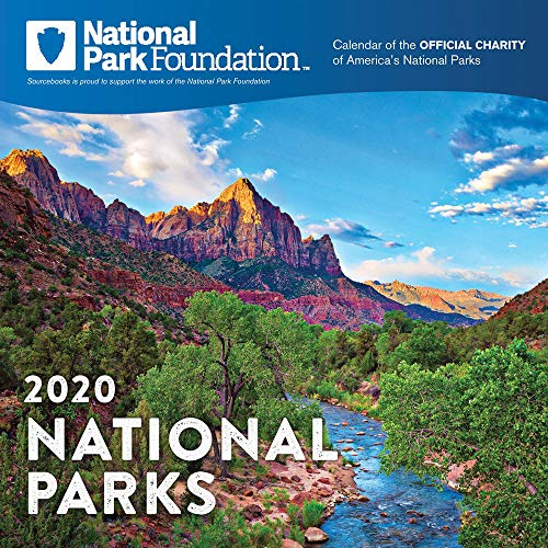 2020 National Park Foundation Wall Calendar