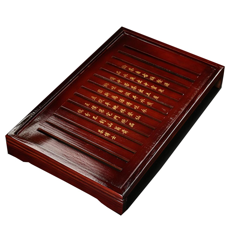 Solid Wood Tea Tray Tea Set Chinese Kung Fu Tea Set-#01