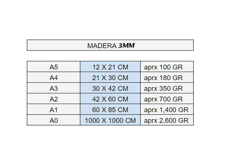 Tablero Contrachapado CNC Router Calado Corte por Laser Ideal para Pirograbado Modelado Madera Maciza Abedul para Bricolaje A5, 6 UNIDADES Manualidades