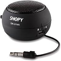 Snopy Sn-314A Hamburger Mini Ses Bombası, Siyah
