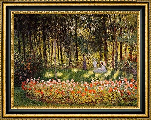 Wooded Scene by Claude Monet - 16.25