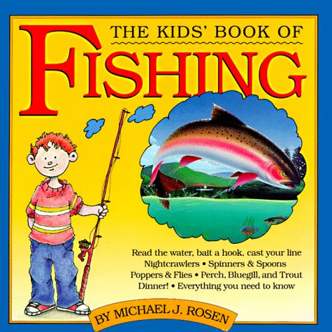 Fishing For Kids Book makes fun camping activities kids love and adults will too to keep from being bored with fun camping ideas for kids
