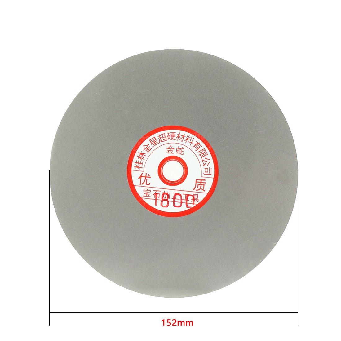 sourcingmap/® 6 grains 1800 rev/êtement Diamant meulage roue tour t/él/évision disque polissage pon/çage