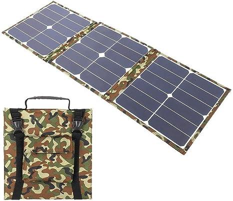 Kit de Panel Solar monocristalino Plegable portátil de 80W ...