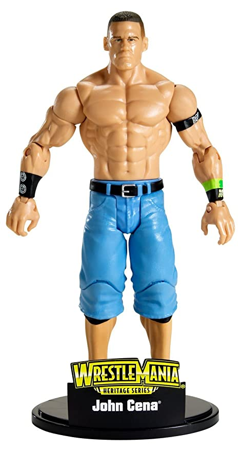 John Cena all/' serie di base 39-WWE Mattel Wrestling Figure