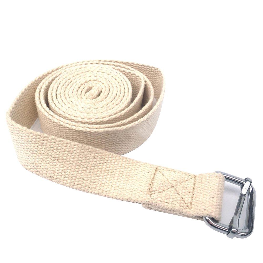 pushfocourag - Cinturón elástico de algodón Puro, Resistente, para Gimnasio, Fitness, Yoga