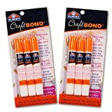 Office Products : Elmers Craft Bond Glue Pen Value Pack -- Set of 6 Glue Pens (Presicion Tip, Clear, 2.12 Oz Total)