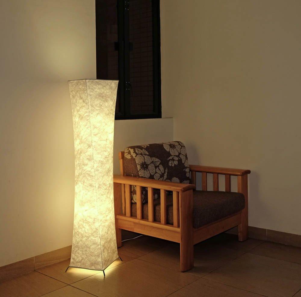 Yenny mit natürlichen Tyvek mit der Stehleuchte mit Beleuchtung, mit mit mit Minimalism Romantische Atmosphäre Modern Style1-general+2 Led Bulbs 752c97