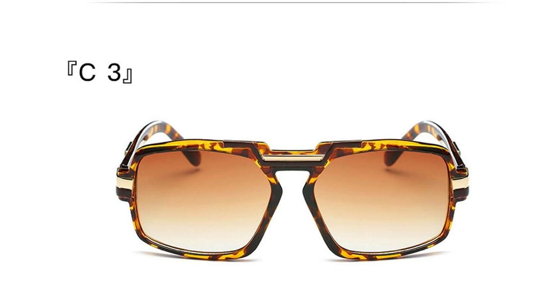 LQABW Nuovi Occhiali Da Sole Europei E Americani Ad Alta Definizione Personalizzata Fashion Box Trend Di Metallo Occhiali Da Sole A Specchio Piatto,Type4