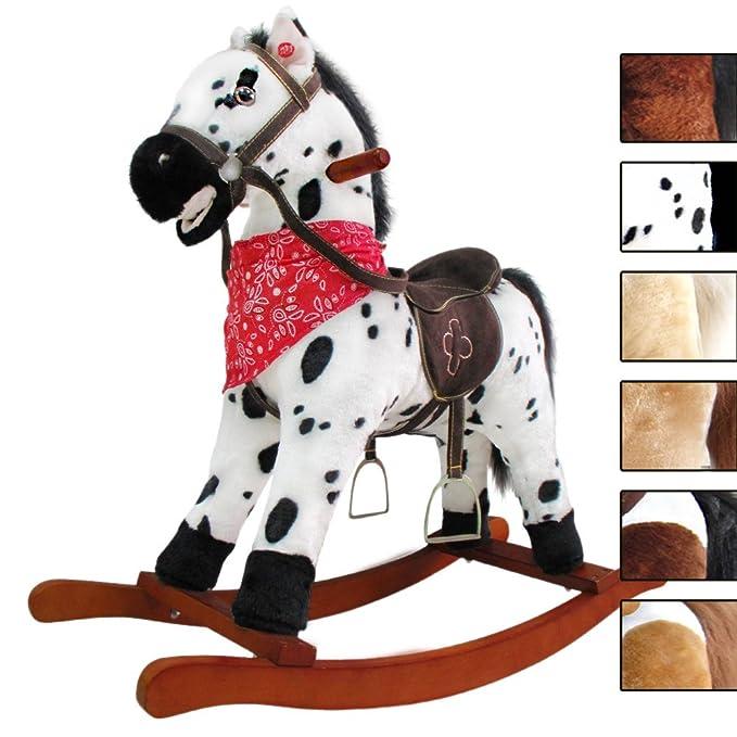 131 opinioni per Cavallo a dondolo, animale a dondolo, giocattolo a dondolo morbido e