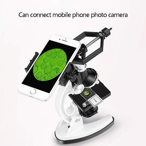 BAOFUR Microscope,Microscopio para Niños Portatil,Adecuado para ...