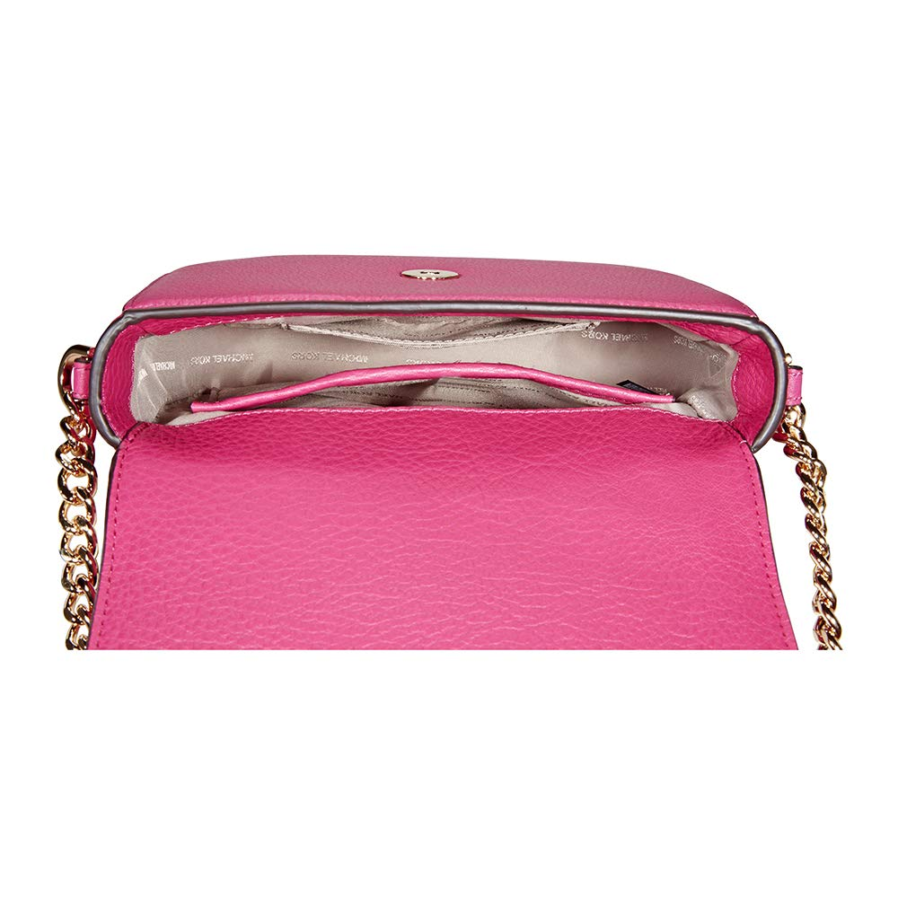 a368160b490f Women's Accessories Michael Kors Half Dome Ultra Pink Crossbody Spring  Summer 2018: Amazon.co.uk: Shoes & Bags