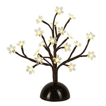 Amazon.com: Lightshare 12Inch Cherry Blossom Bonsai Light, 20 LEDs ...