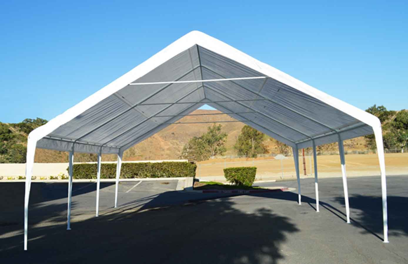 Impact Canopy EVENT CANOPY - 20'x20'x12' (8 legs) Portable Carport Wedding Party Canopy Shelter