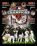 San Francisco Giants 2012 World Series Limited Edition Composite Photo 8x10